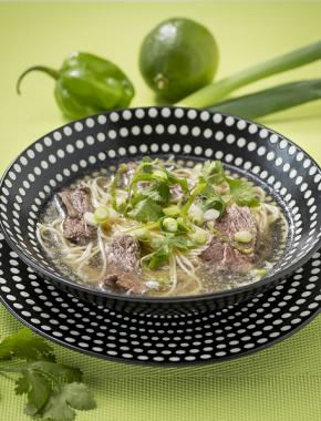 Soupe vietnamienne au bœuf (pho)