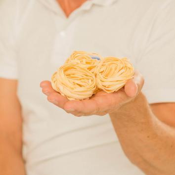 pâtes nids
