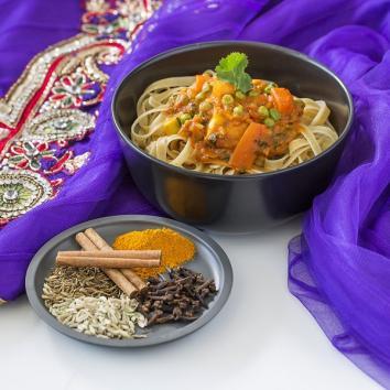 Nids n° 4 intégrales bio : légumes curry indien