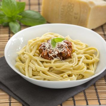 Spaetzle terroir à la viande mijotée