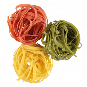 Pâtes nids n°4 tricolores