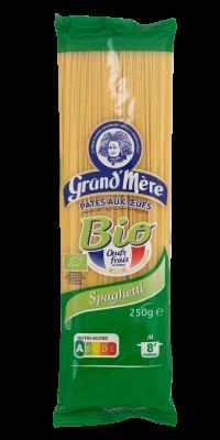 SPAGHETTI - Pâtes Bio - Pâtes Grand'Mère - 2