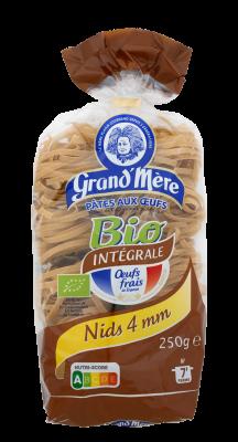 NIDS N°4 - Pâtes Bio complètes - Pâtes Grand'Mère - 2