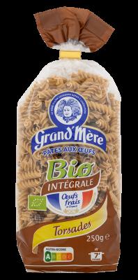 TORSADES - Pâtes Bio complètes - Pâtes Grand'Mère - 2