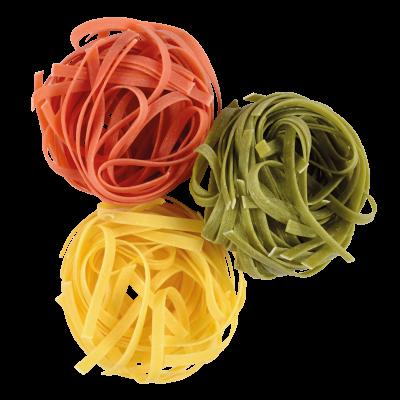 NIDS N°4 TRICOLORES - Pâtes tricolores - Pâtes Grand'Mère