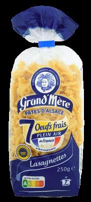 LASAGNETTES - Pâtes courtes classiques - Pâtes Grand'Mère - 2