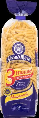 MACARONI - Pâtes cuisson rapide - Pâtes Grand'Mère - 2