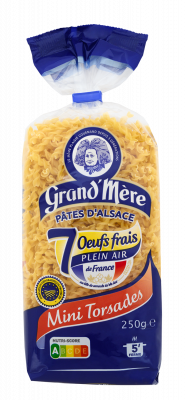 MINI TORSADES - Mini-pâtes - Pâtes Grand'Mère - 2