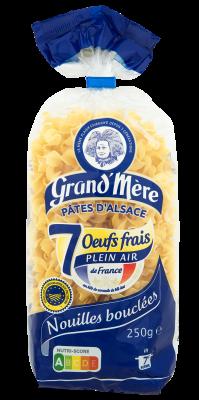 NOUILLES BOUCLÉES - Pâtes courtes classiques - Pâtes Grand'Mère - 2