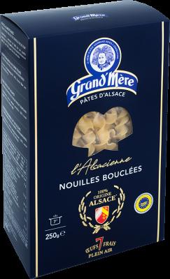 NOUILLES BOUCLÉES - L'Alsacienne - Pâtes Grand'Mère - 2