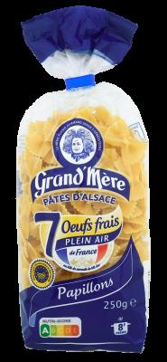 PAPILLONS - Pâtes courtes classiques - Pâtes Grand'Mère - 2