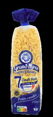 PETITS COUDES - Pâtes courtes classiques - Pâtes Grand'Mère - 2