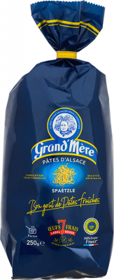 Paquet de pâtes spaetzle - gamme terroir
