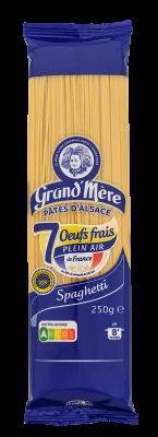 SPAGHETTI - Pâtes longues classiques - Pâtes Grand'Mère - 2