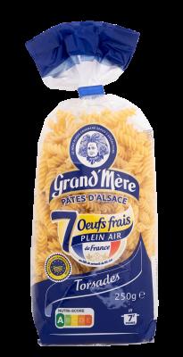 TORSADES - Pâtes courtes classiques - Pâtes Grand'Mère - 2